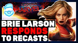 Brie Larson RESPONDS To FIRING Rumor & Captain Marvel 2 Director Nia DaCosta BLASTS Marvel