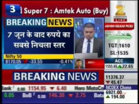39783 Zee Business First Trade 13 June 2016 01min 11sec Mr  Abhishek Goenka   CEO, India Forex Ad
