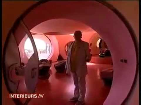 le palais bulles pierre cardin youtube. Black Bedroom Furniture Sets. Home Design Ideas