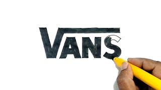 How to Draw the Vans Logo