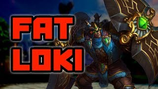Smite - FAT LOKI IS ALL ABOUT AGGRESSION!! - Grandmasters Ranked 1v1 Duel
