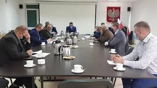 XVIII sesja nadzwyczajna Rady Gminy Brzuze