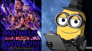Brian O Minion E Os Minions Reagindo Ao Trailer 2 De Vingadores - Ultimato (Vingadores 4)!!!!!!!!!!!