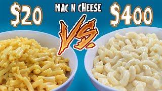 MAC N CHEESE BARATO vs CARO | EL GUZII