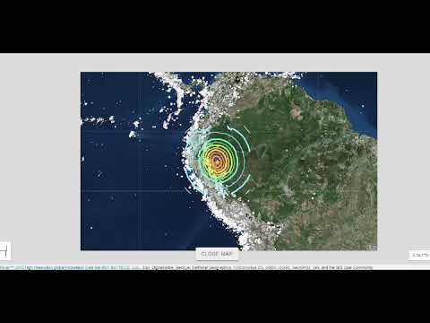 Huge M8.2 Earthquake Hits PERU! Earth RInging Again Heliplots Show! Aftershocks Follow!