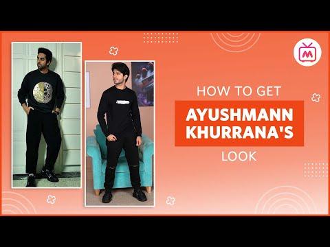How To Get Ayushmann Khurrana's Look - Myntra Studio
