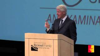 'H. Lee Scott Speaker Series: President Bill Clinton (full program)