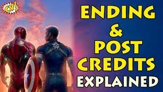 Avengers Endgame Ending Explained    Post Credit Scene    #ComicVerse