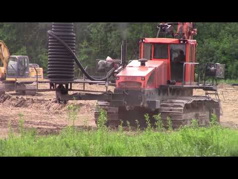 Tiling a Corn Field on the Ridge 5-29-20