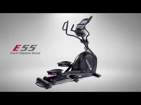 video Sole E55 Elliptical Trainer System