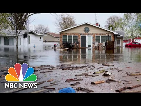State Of Emergency In Michigan After Dam Failure And Flooding | NBC Nightly News