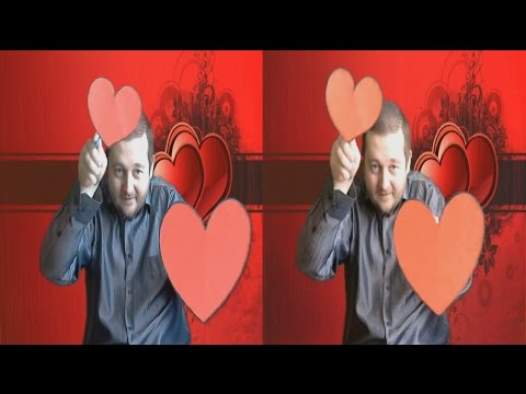 Valentine's Day in 3D ! Love Will Save The World ! ( side-by-side )