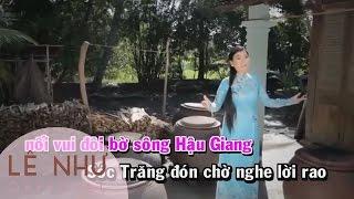 Miền Tây Quê Tôi [Karaoke] - Lê Như