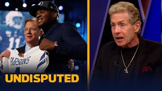 Skip Bayless reacts to his Cowboys trading down to get Micah Parsons | NFL | UNDISPUTED