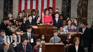 Nancy Pelosi becomes House speaker