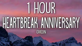 Giveon - Heartbreak Anniversary (Lyrics) 🎵1 Hour