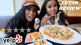 Eating at the Worst Reviewed Sushi Restaurant in my City (Toronto)