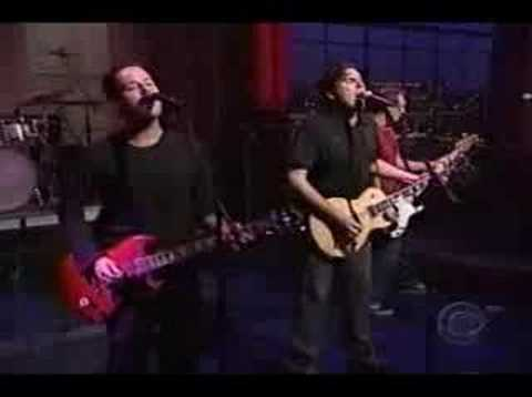 Jimmy Eat World - Bleed American on Letterman