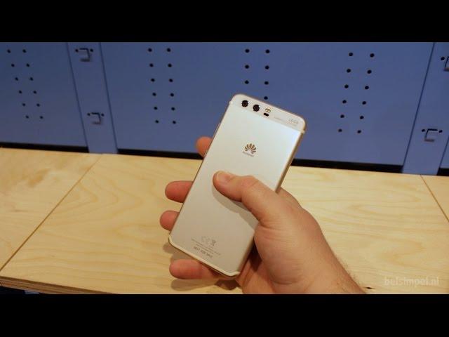 Belsimpel.nl-productvideo voor de Huawei P10 Silver