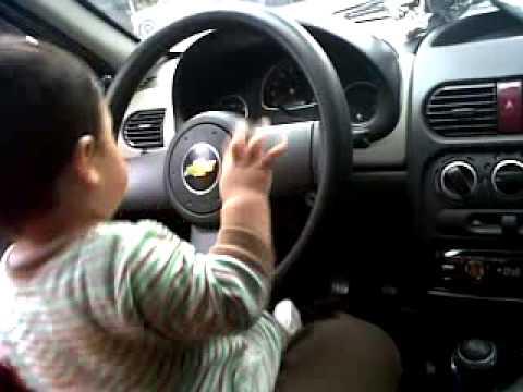 Manejando el auto de Papá