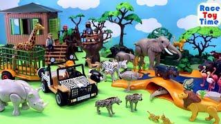 Playmobil Wildlife Safari Animals Fun Toys For Kids