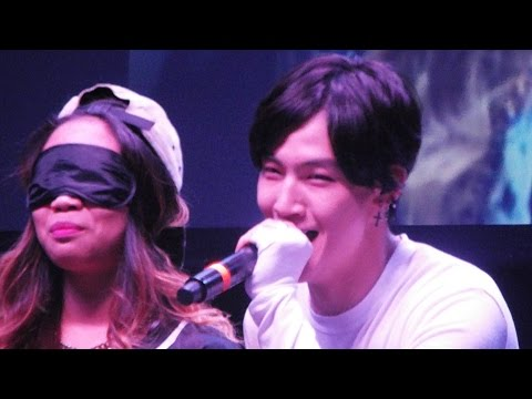 GOT7 - (Blindfold Guessing Game w/ Fans) FANMEETING in Dallas 150510