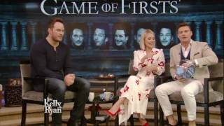 "Chris Pratt Plays ""Game of Firsts"""
