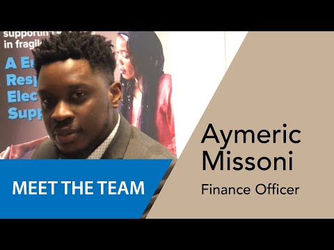 Aymeric Missoni - Agent des Finances/Administration