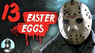 13 Friday The 13th Game Easter Eggs & Secrets YOU May Have Missed - Easter Eggs #2   The Leaderboard