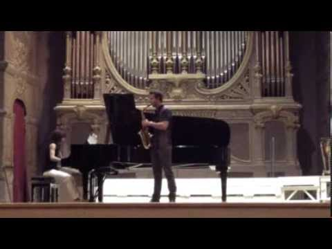 "Stefano Papa - (trailer) C. Debussy ""Rhapsodie"" & G. Fitkin ""Gate"""
