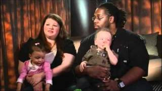 Biracial Couple Gives Birth to Twins: One Black, One White | Good Morning America | ABC News