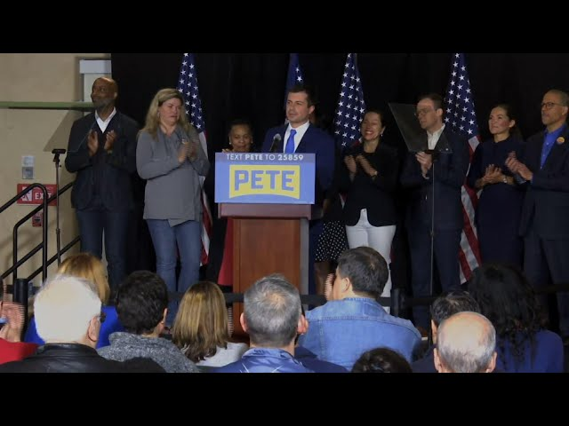 Buttigieg congratulates Sanders Nevada results