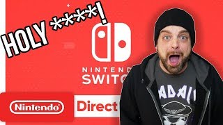 February Nintendo Direct REACTION: HOLY ****! | RGT 85