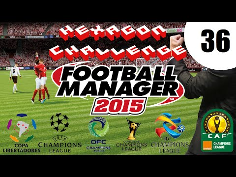 Pentagon/Hexagon Challenge - Ep. 36: AFC CL Group Matches 1-2 | Football Manager 2015