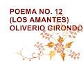 POEMA NO. 12 (LOS AMANTES) OLIVERIO GIRONDO