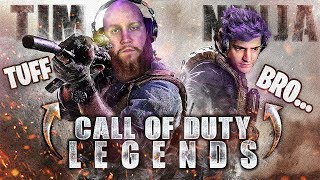 NINJA AND TIM POP OFF IN CALL OF DUTY MODERN WARFARE!