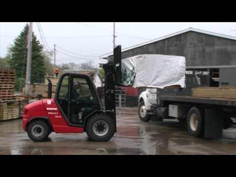 Alta Equipment Company - Manitou Customer Testimonial - Murray Lumber