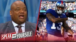 Jason Whitlock thinks the Giants made a mistake with the Odell contract | NFL | SPEAK FOR YOURSELF