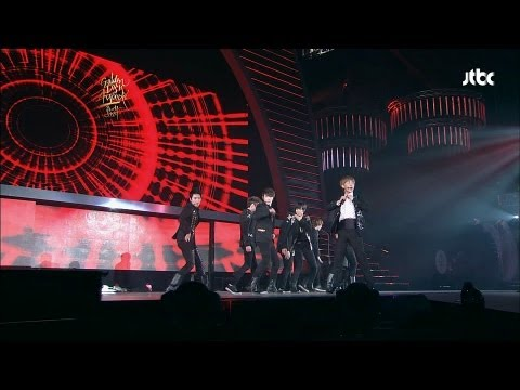 [GDA/Golden Disk Awards] Super Junior (슈퍼주니어) - Bonamana (미인아) rock ver.