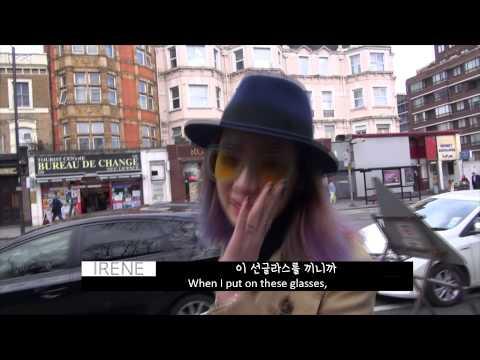 IRENE is LONDON - fashionweek behind story