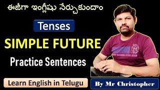 Spoken English through Telugu|Will allow|Learn English easily