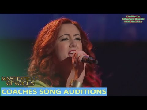 COACHES SONG COVER AUDITIONS ON THE VOICE