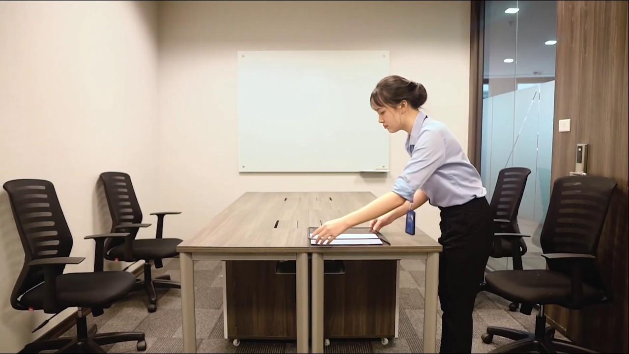 Cho thuê chỗ ngồi làm việc, địa chỉ đăng ký kinh doanh tại Aruna Offices IPH Xuân Thủy - 0988204444 video