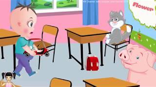 ChiChi ToysReview TV - Hoạt hình bé tập làm cô giáo