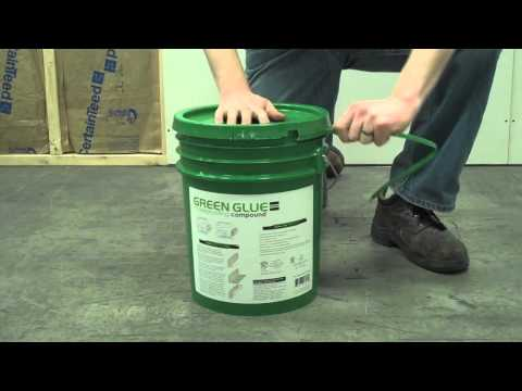 How to Use Green Glue Noiseproofing Compound