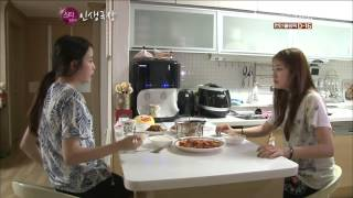 T-ARA - IU visits Jiyeon at her home