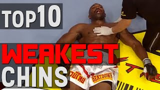 TOP 10 Weakest Chins In MMA