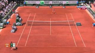 S. Halep vs. M. Sharapova Women's Final Roland Garros 2014