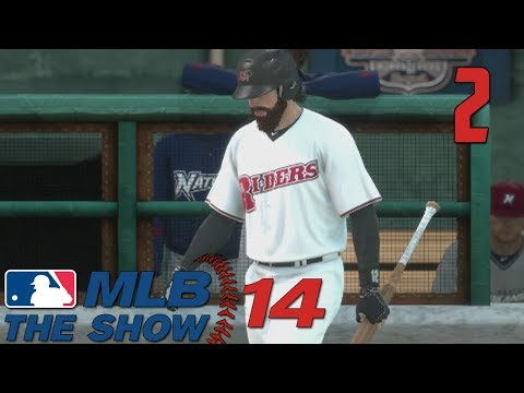 MLB 14 The Show - Road to the Show - Part 2