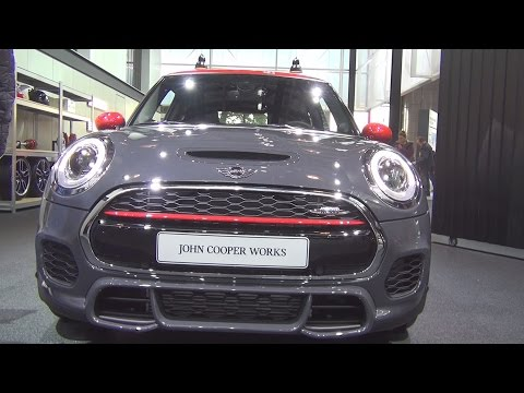@MINI John Cooper Works Hatch 3 doors 231 hp (2017) Exterior and Interior in 3D